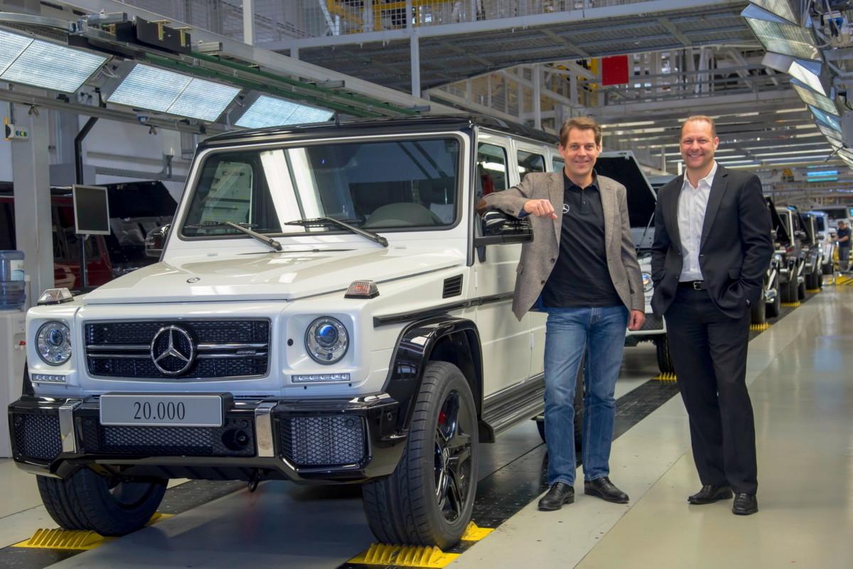 Mercedes-Benz выпустил рекордное количество Гелендвагенов