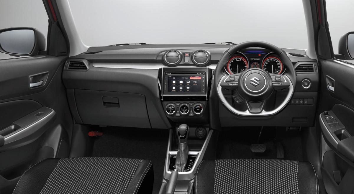 Новый Suzuki Swift 2017 – первые официальные фото