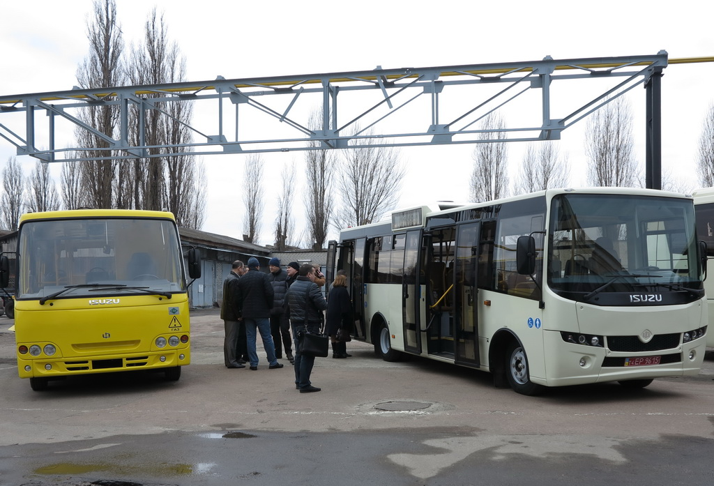 Новые автобусы Ataman
