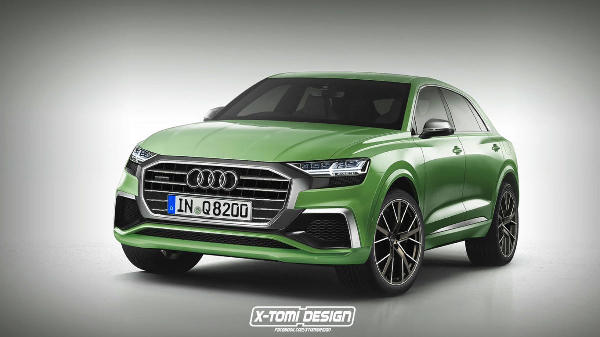 Каким будет серийный кроссовер Audi Q8 2018