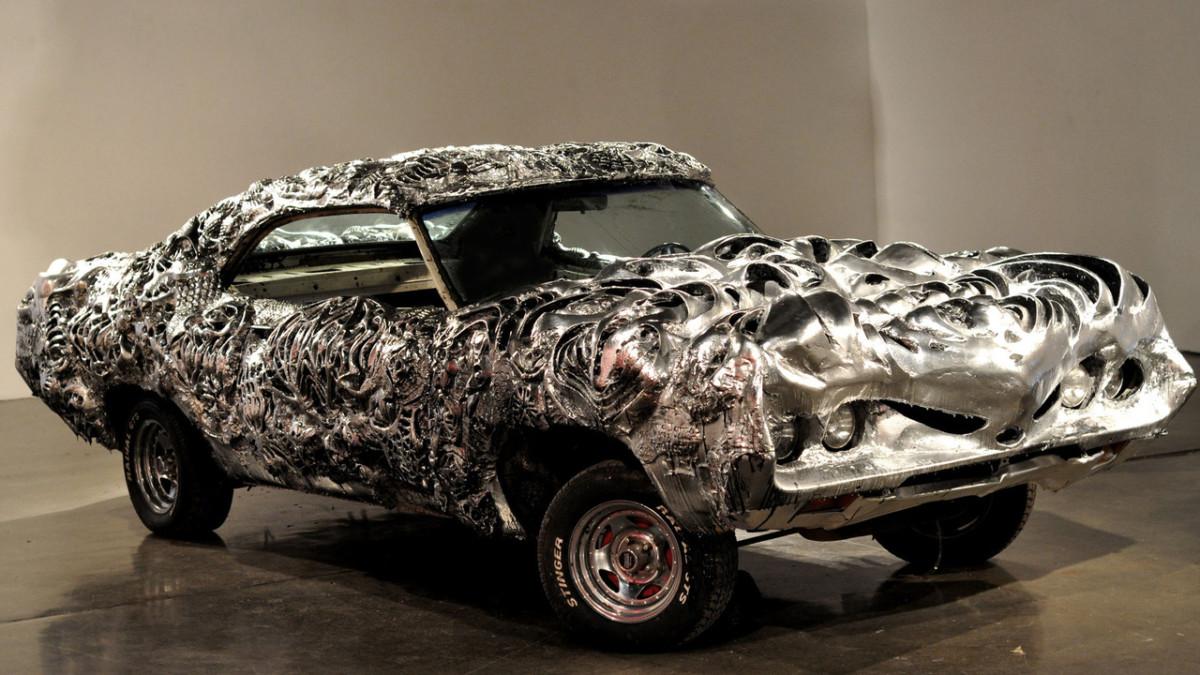 Современное искусство. Причудливая скульптура Ford за $5500