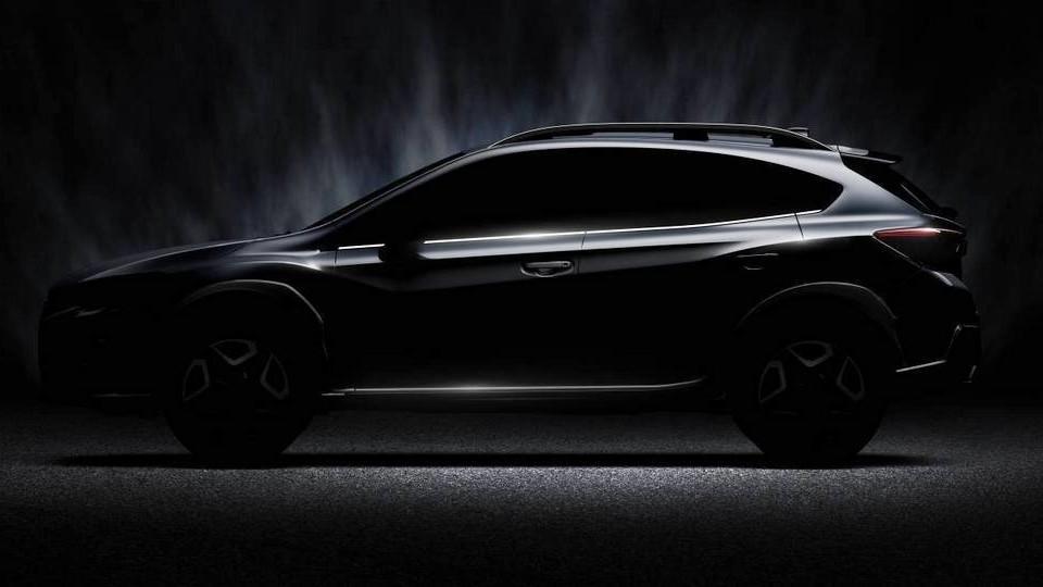 Subaru XV 2018 впервые засветилась на фото