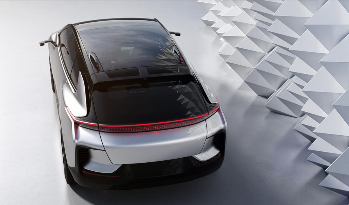Электрический кроссовер Faraday Future FF91 представили официально