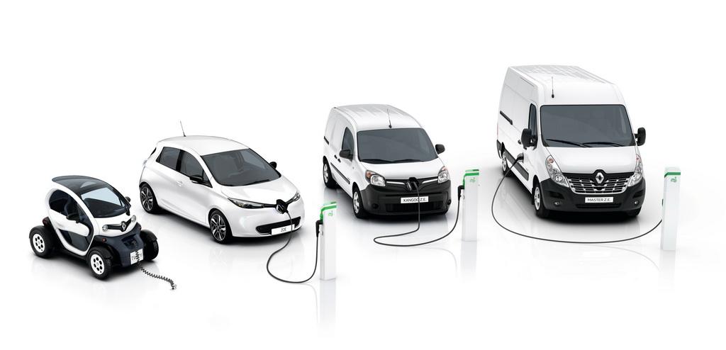 Новые электромобили Рено