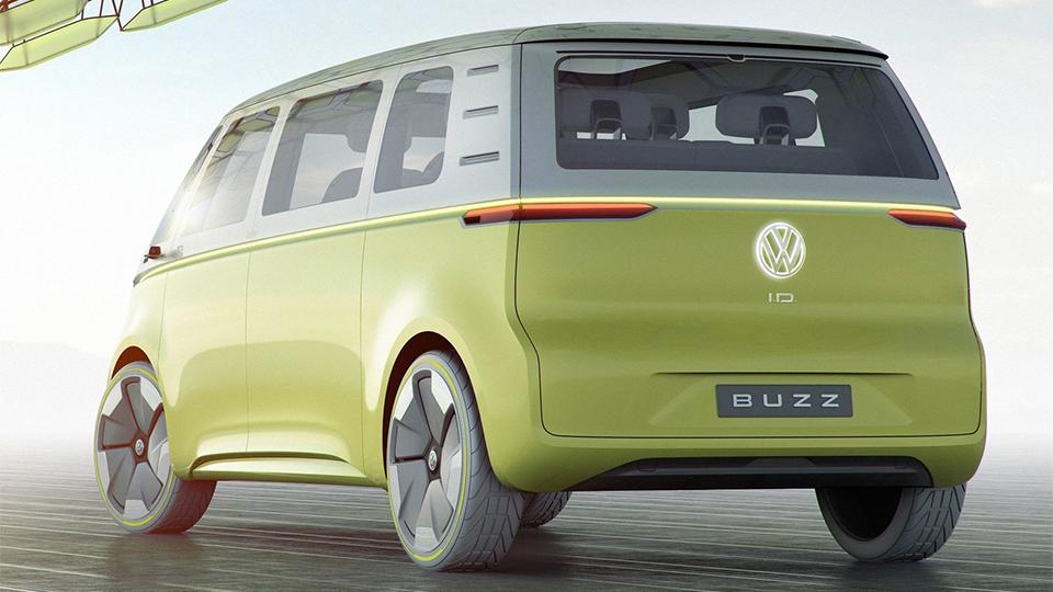 Первый электровэн Volkswagen появится в 2022 году