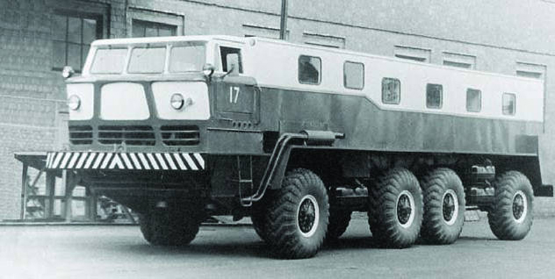 Дорожная лаборатория ЗИЛ-135