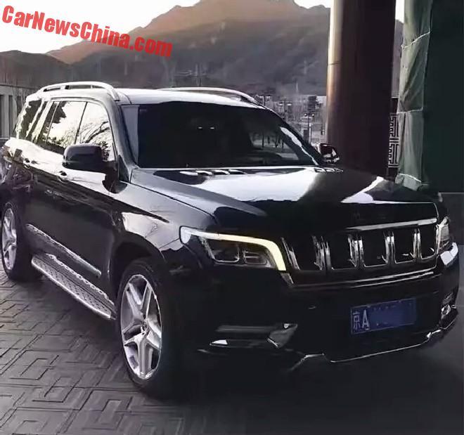 В Китае поступила в продажу копия Mercedes-Benz GLS