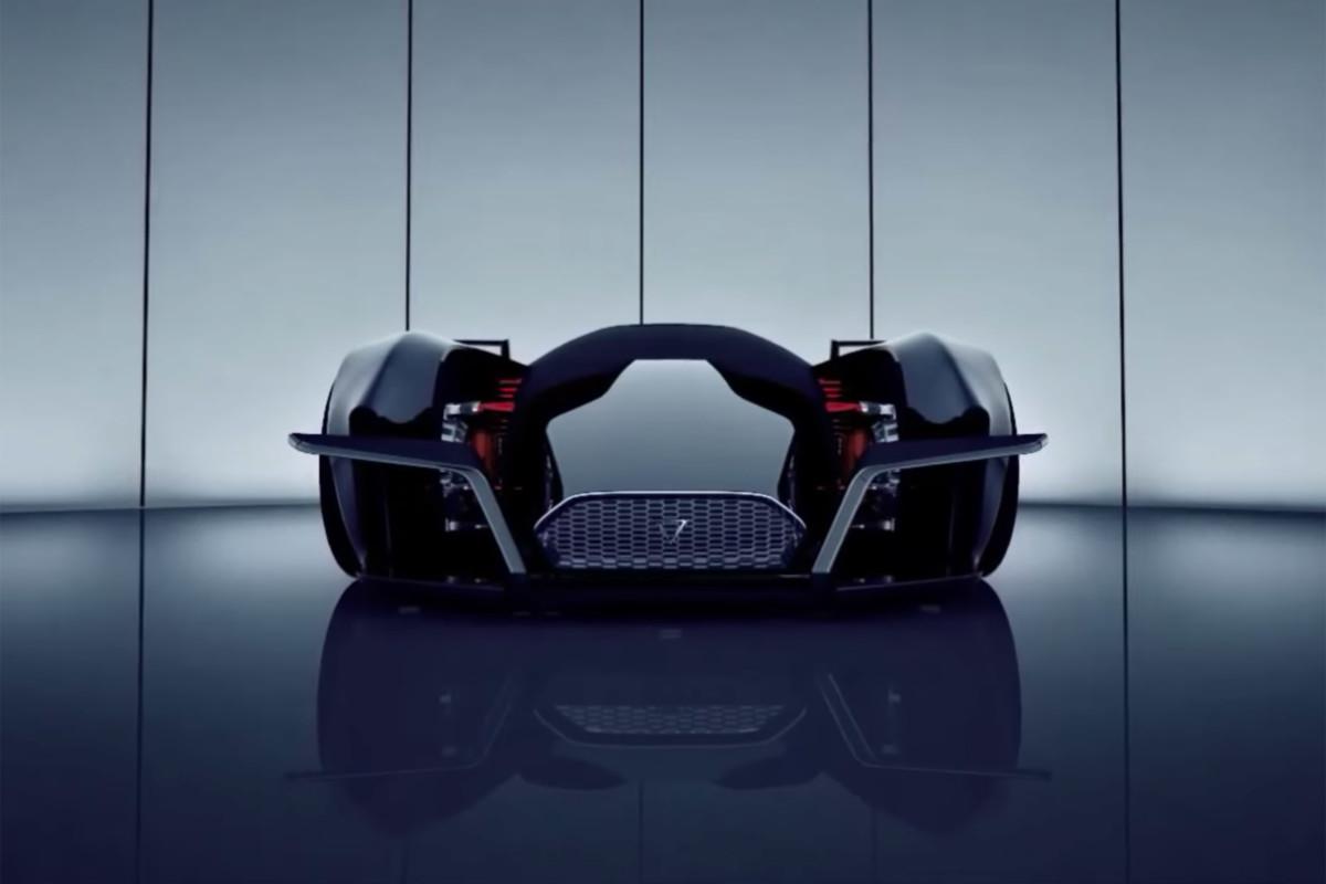 Электрический гиперкар Dendrobium – 1500 л. с. и технологии Формулы 1