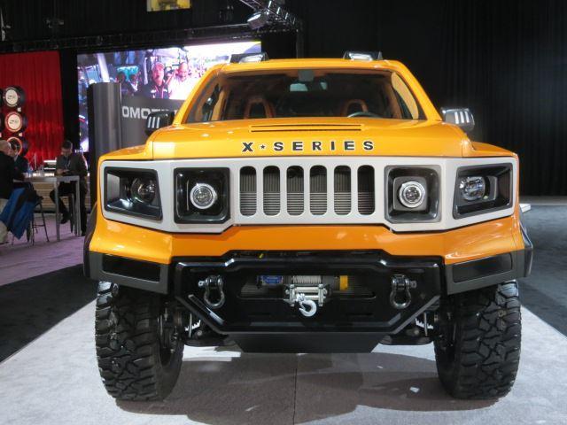 В Детройте представили брутальный внедорожник VLF Automotive X-Series