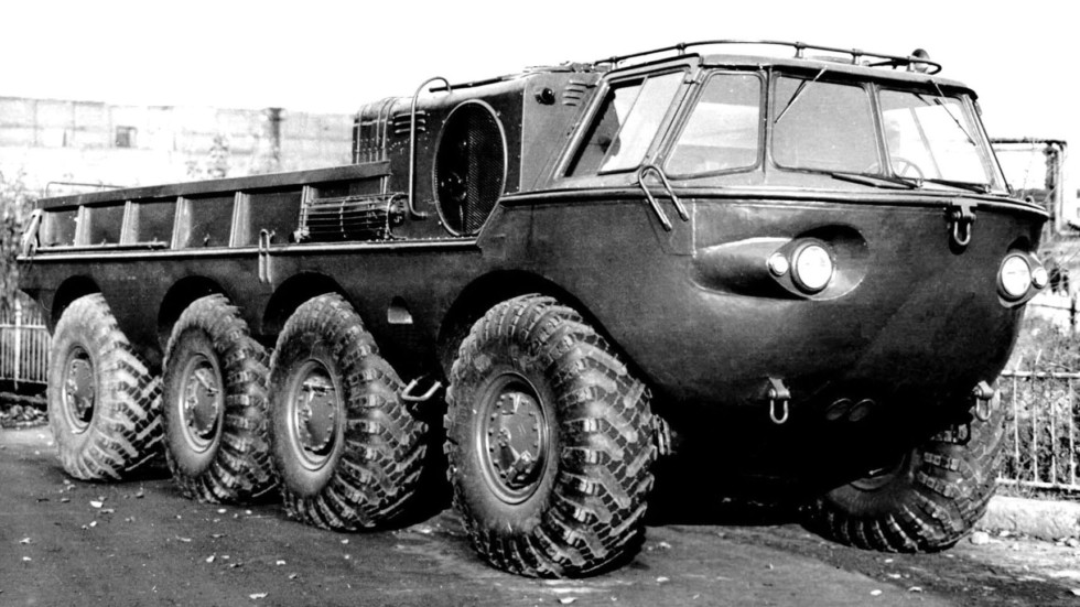 Амфибия ЗИЛ-135