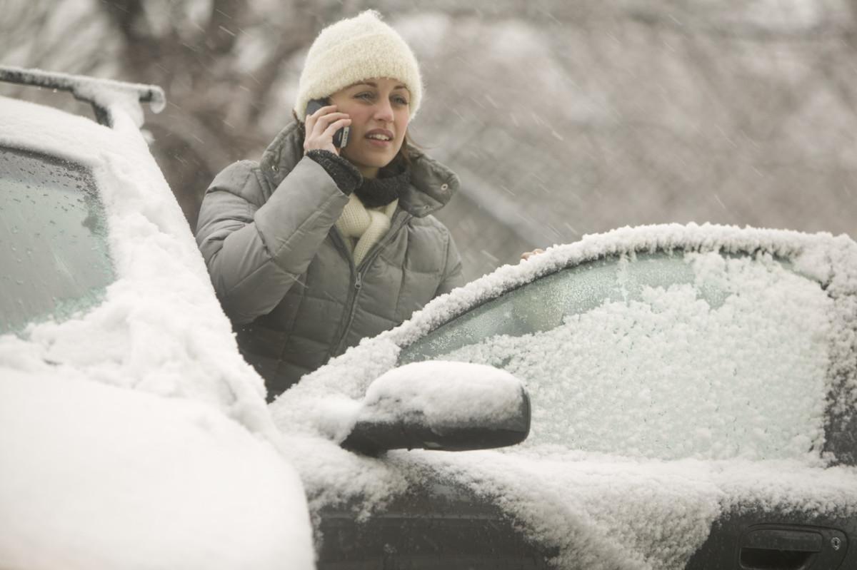 снег и мороз в украине
