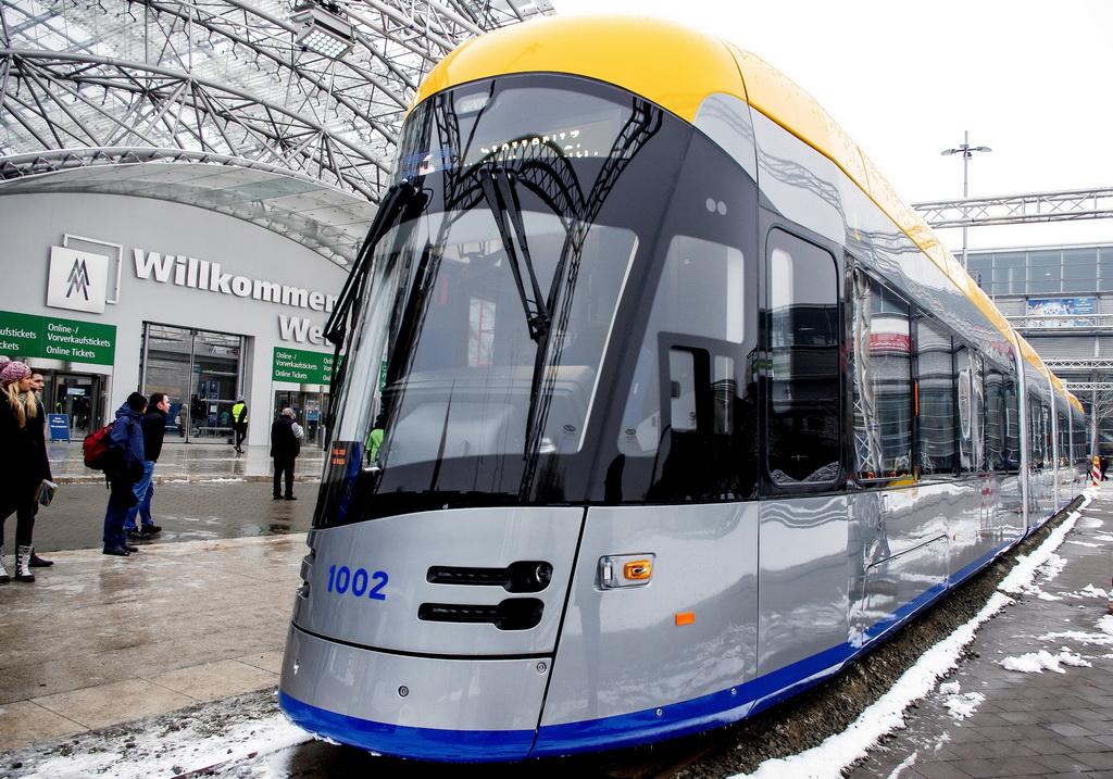 трамвай Solaris