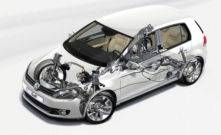 В США разработана цифровая подвеска авто