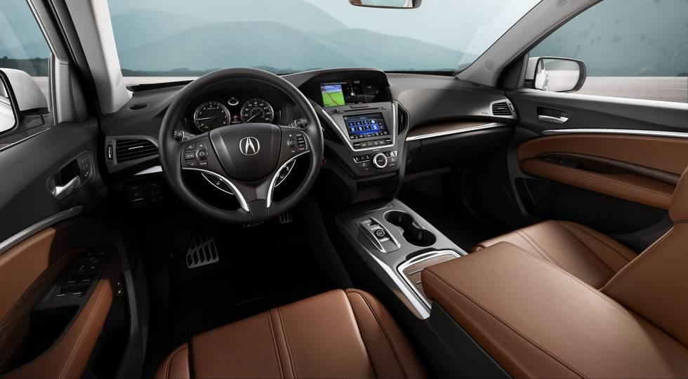 Гибридный кроссовер Acura MDX получил сразу три электромотора