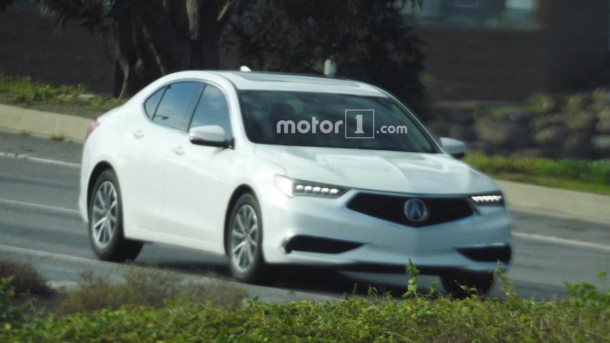 Acura TLX 2018: премиальный брат Honda Accord рассекречен до премьеры