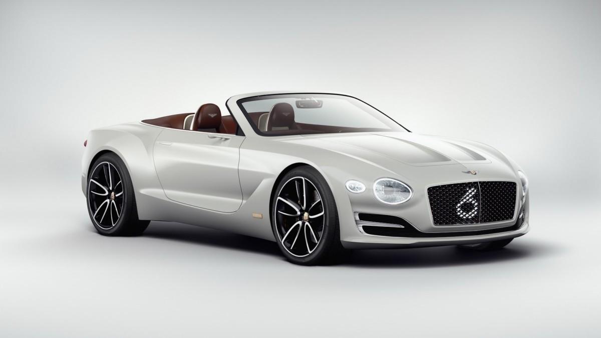Первый электромобиль Bentley появится в 2019 году