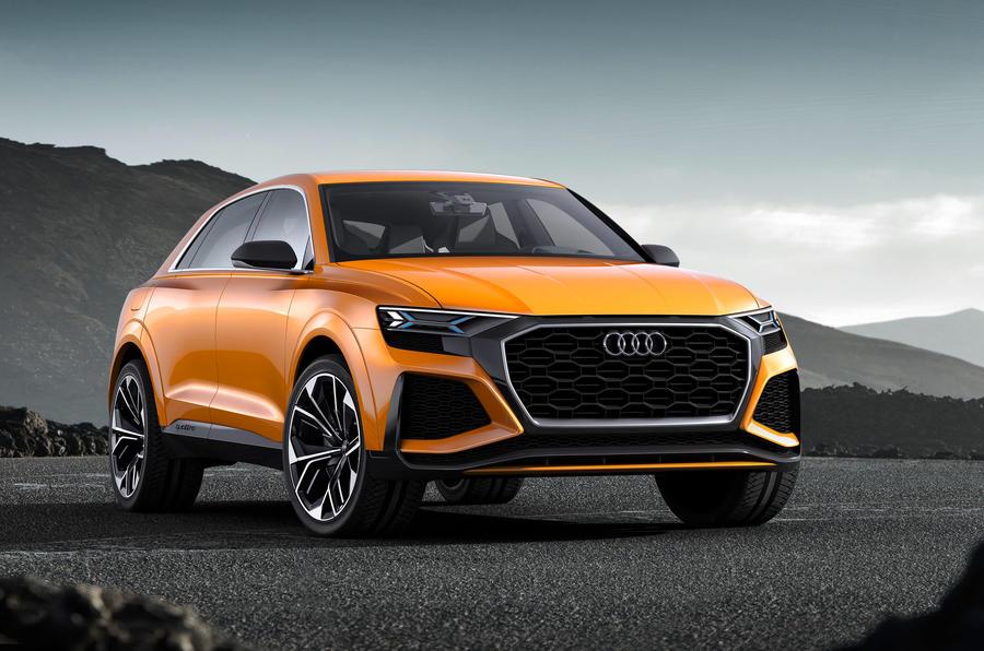 Audi готовит два спортивных кроссовера