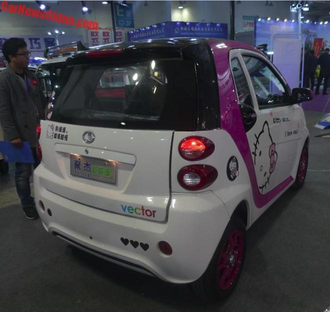 В Китае представлена копия Smart fortwo за $2700