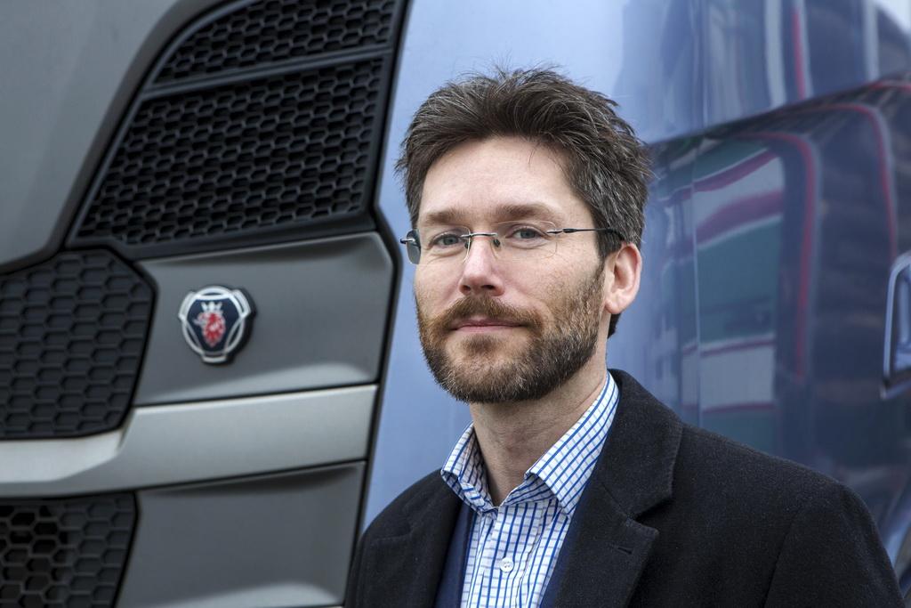 Хенрик Венцель, главный инженер Scania