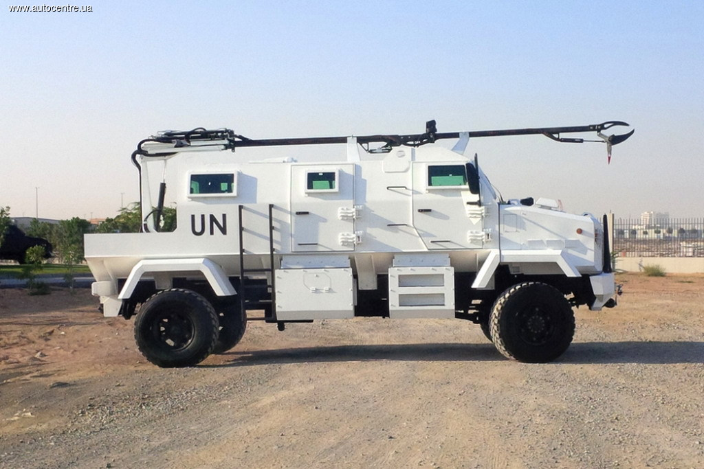KrAZ-MPV Shrek One в модификации Route Clearance Vehicle