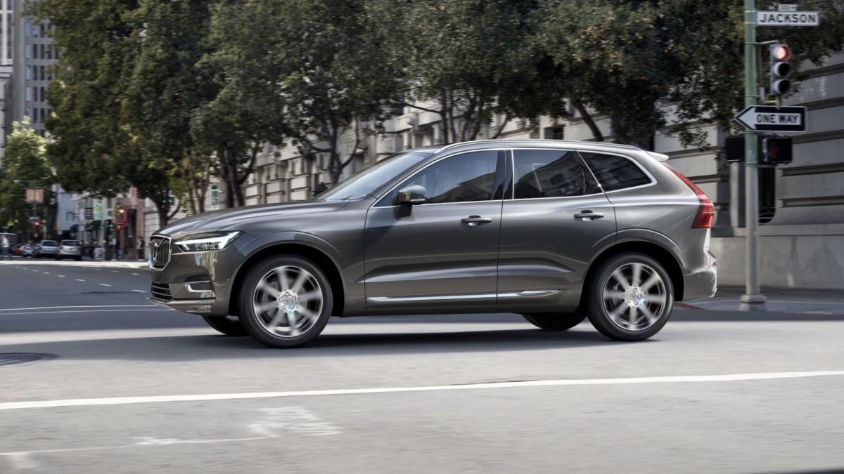 Цена Volvo XC60 2018 в Европе стартует с 48 тыс. евро