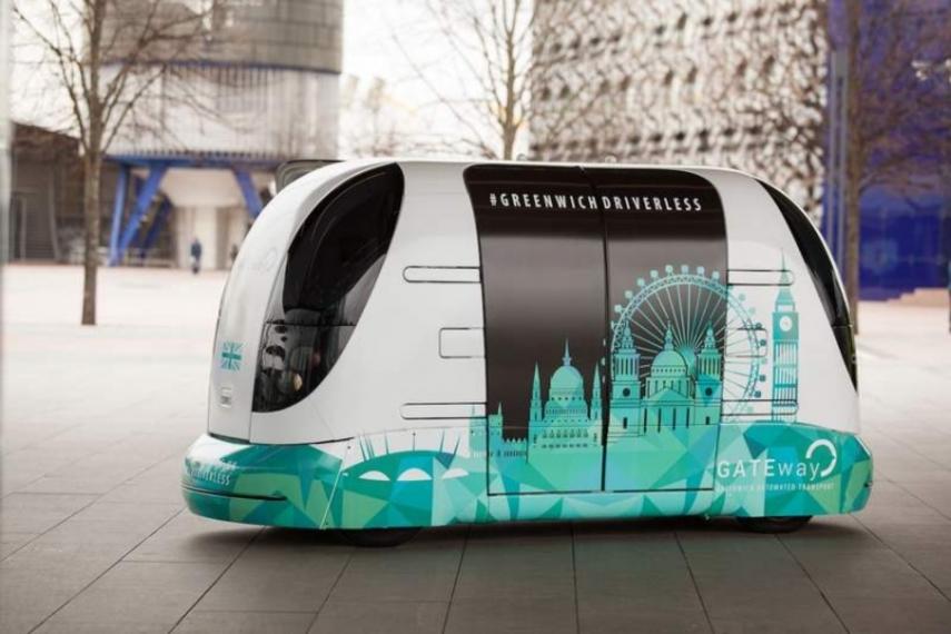 В Лондоне запустили беспилотные автобусы