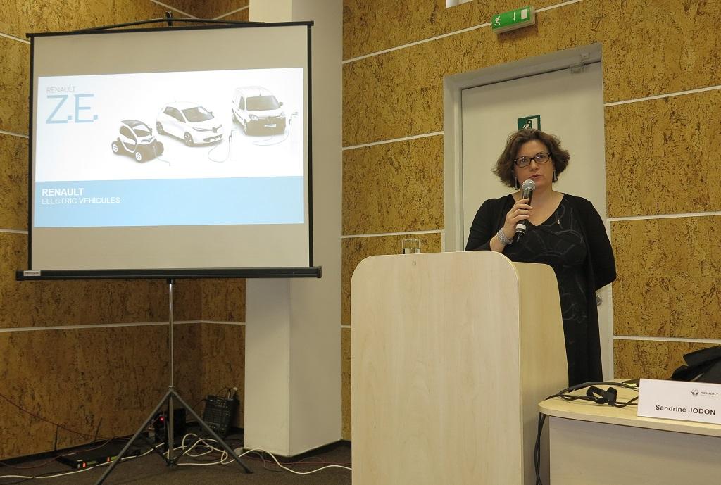 Садрин Жодон, менеджер по развитию бизнеса электромобилей Renault