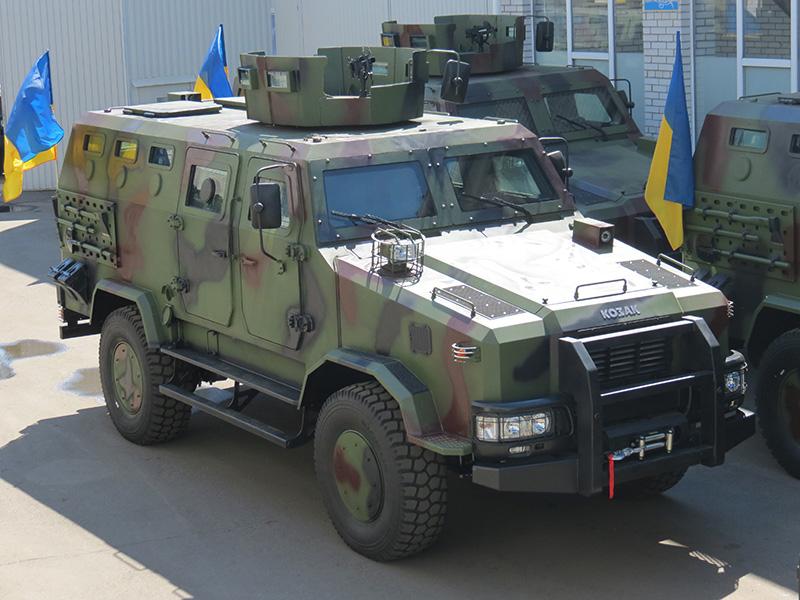 Бронеавтомобиль «Козак-2»