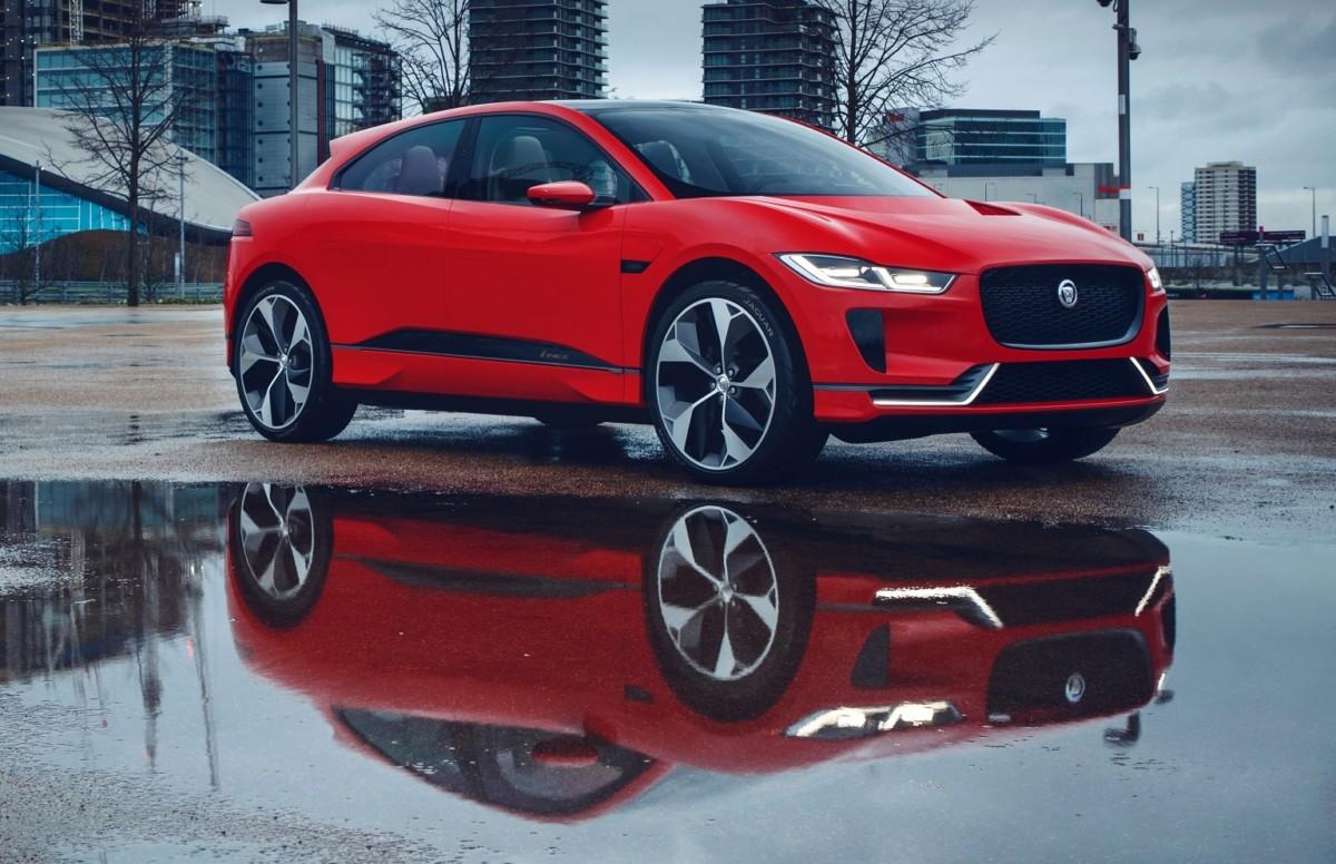 Электрокроссовер Jaguar I-Pace оказался дешевле Tesla Model X