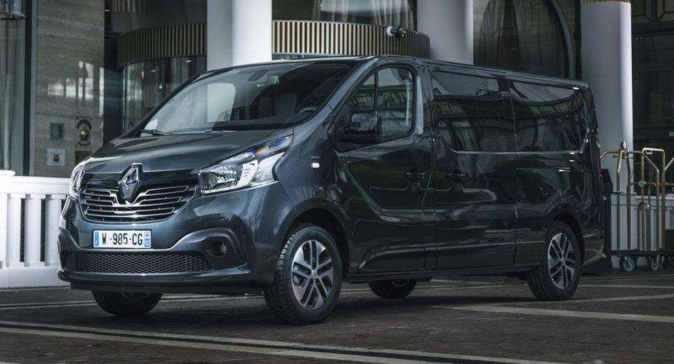 Renault Trafic SpaceClass: роскошный микроавтобус с претензией на мобильный офис