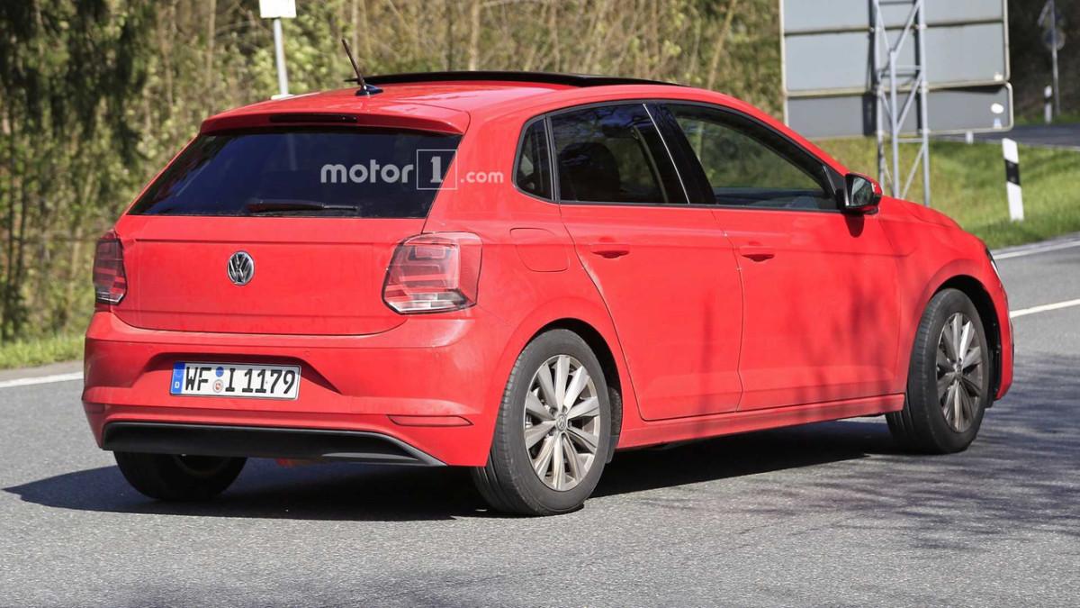 Новый Volkswagen Polo 2018 засняли без камуфляжа