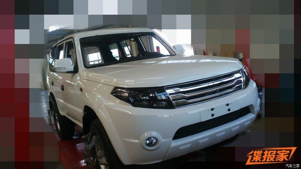 Китайская копия Toyota Land Cruiser Prado претерпит обновление