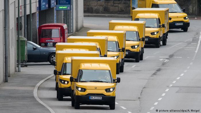 Немецкая почта наладила выпуск электромобилей