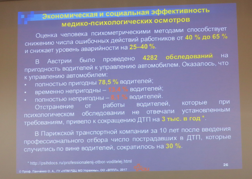 «Идиотен тест» для водителей: украинская перспектива