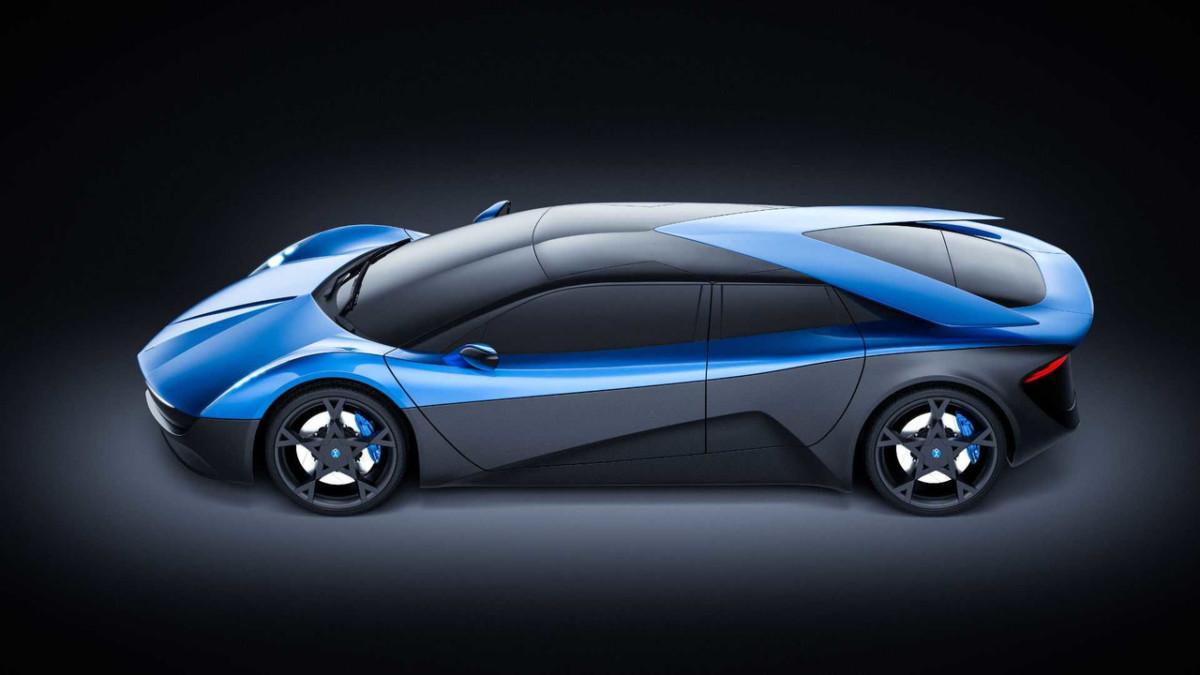Электрический суперкар Elextra станет одним из быстрейших авто в мире