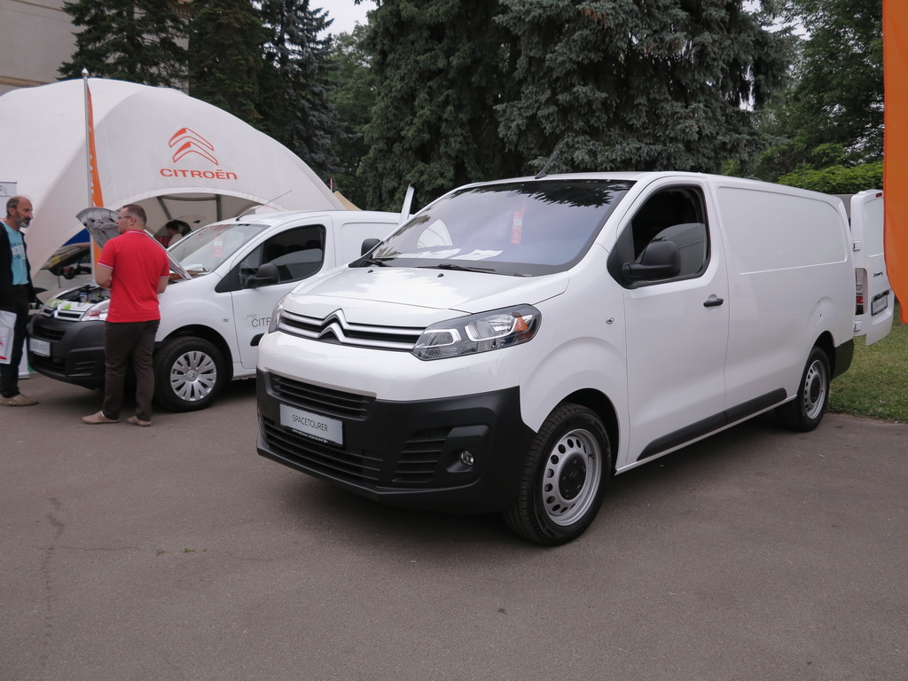 Новый Сitroen Jumpy и Berlingo Electric на «Агро-2017»