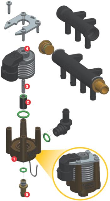 Газовые форсунки STAG