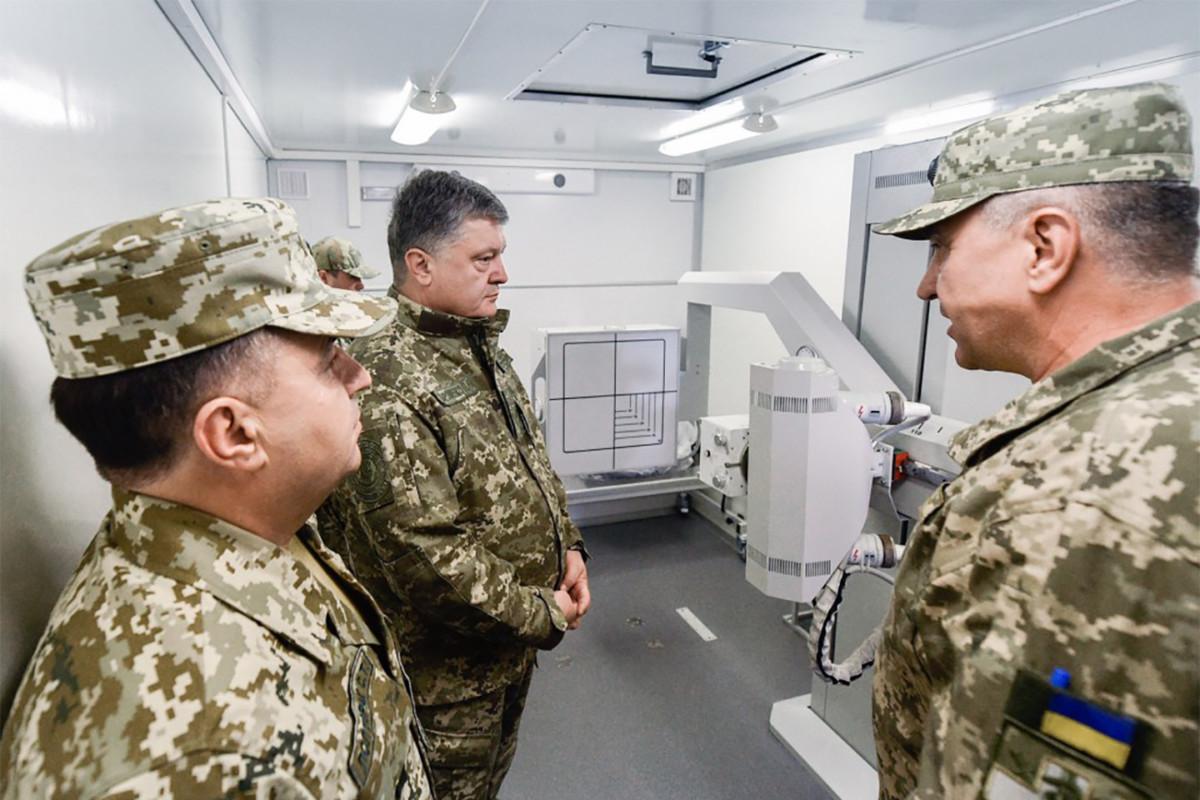Передвижной рентген-кабинет на шасси КрАЗ (6х6)