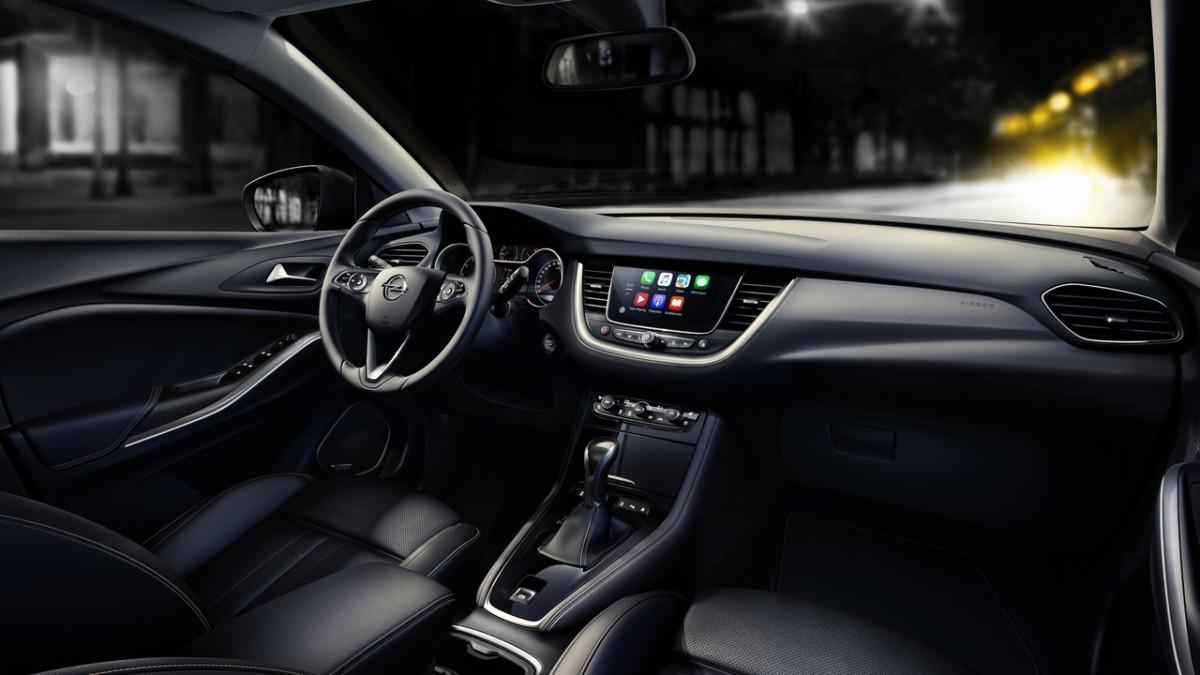 Кроссовер Opel Grandland X: объявлены европейские цены