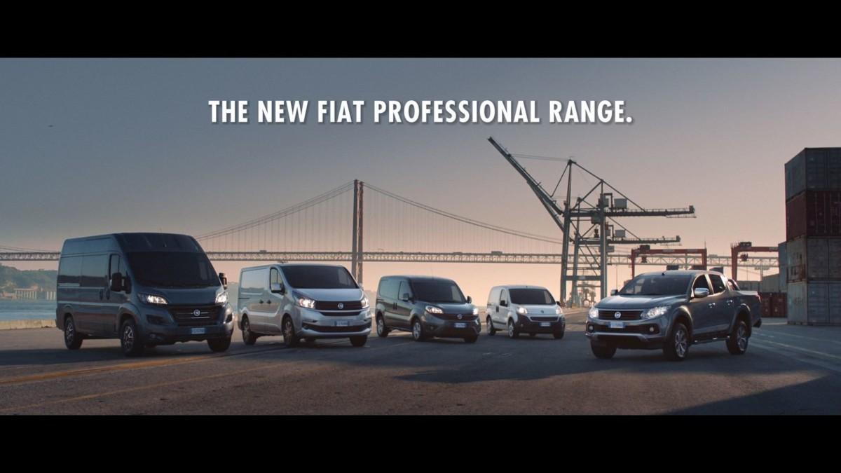 Модельный ряд Fiat Professional