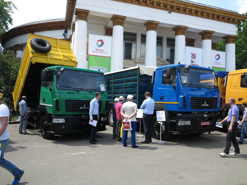Новинки МАЗ для аграриев Украины