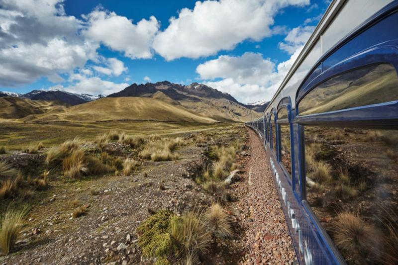 На поезде Belmond Andean Explorer