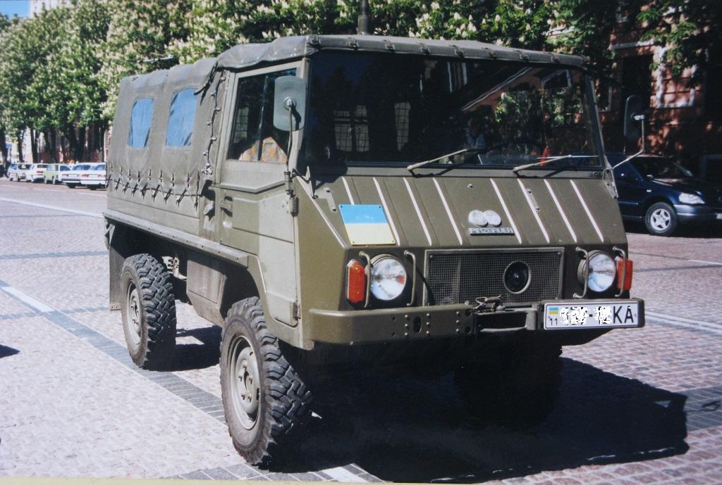 В украинской армии - Киев, лето 2001 года