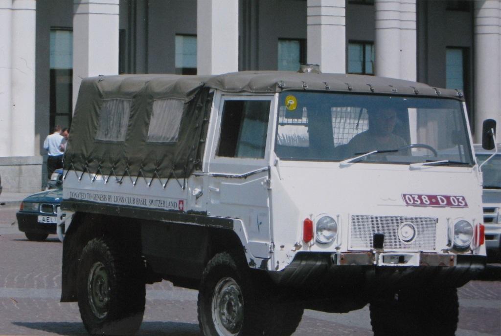 В грузинской армии - Тбилиси, лето 2008 г.