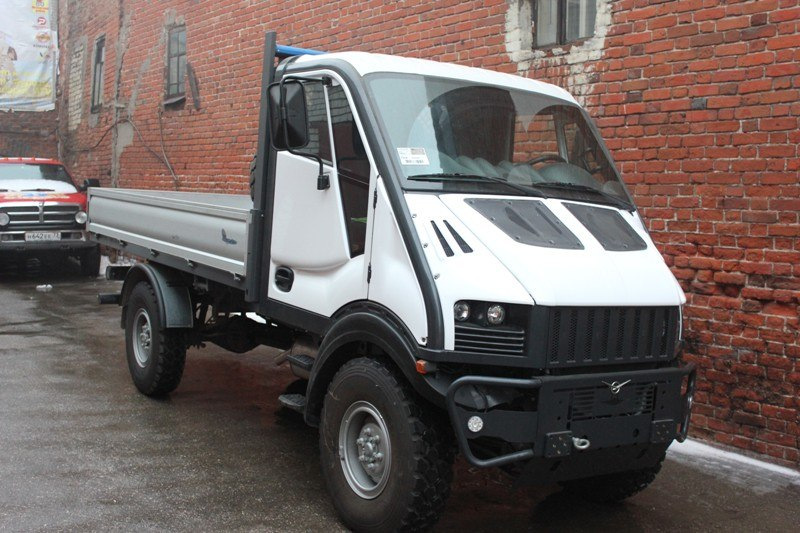 УАЗ-4963 - он же итальянский Унимог,Bremach T-REX