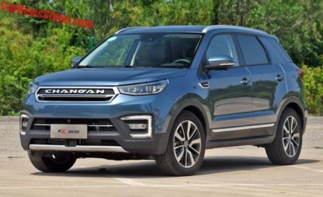 Changan CS55: китайский кроссовер в стиле Land Rover Discovery Sport