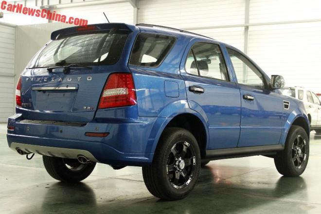 Kawei W1: китайская копия Kia Sorento с «лицом» пикапа Ford