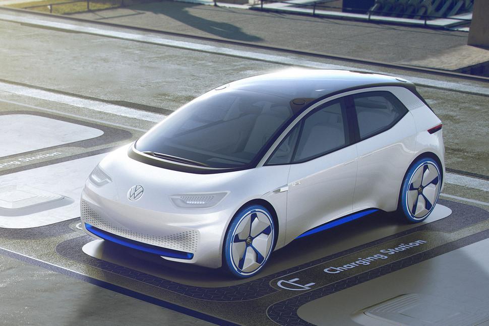 Новые подробности про серийные электромобили Volkswagen I.D.