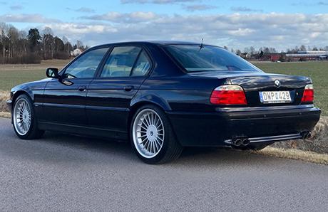В Швеции обнаружен раритетный спорт-седан BMW