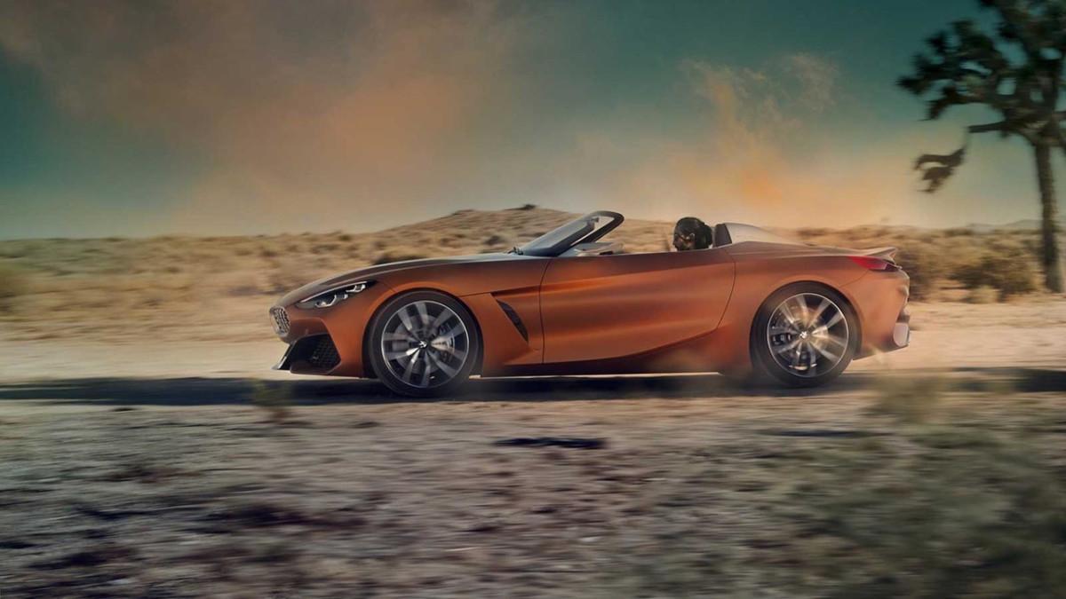 Стало известно, какой будет новая BMW Z4 2018